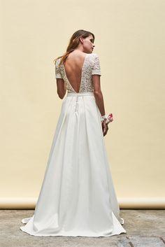 Robes de mariée de Maison Floret - Collection 2018 |Photographe : Fabio Piemonte | Donne-moi ta main - Blog mariage