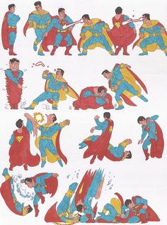 Superman_doodles_01_July2013 by AlexBaxtheDarkSide on deviantART