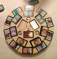 Dominion Card Organizer by RAWRdesign on Etsy, $44.99..... it's a lazy susan with holes cut out for the ten kingdom cards on the outside and an inner ring for the gold/victory/curse/trash cards (and expansions)