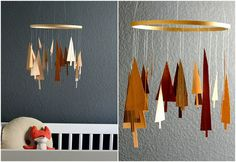 hello, Wonderful - 8 CREATIVE DIY BABY MOBILES