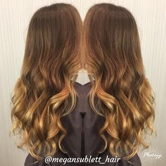 """13 Likes, 1 Comments - Megan Sublett (@megansublett_hair) on Instagram: """"Honey blonde balayage! Book your summer hair now!!! Everyone needs a little balayage! #loveyourhair…"""""""