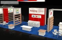 If your needs require a custom designed and built trade show booth and trade show displays, EXHIBITMAX is the best exhibit rental company! Exhibition Stand Design, Exhibition Booth, Show Booth, Convention Centre, Booth Design, Great Shots, Trade Show, Custom Design, Display