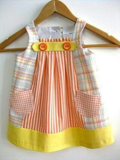 57 Ideas Sewing Clothes Diy Upcycling Girls For 2019 diy clothes sewing 651544271073421994 Little Dresses, Baby Outfits, Little Girl Dresses, Toddler Outfits, Kids Outfits, Girls Dresses, Baby Dresses, Sewing Baby Clothes, Baby Sewing