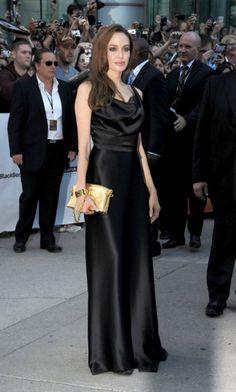 Black Satin Vivienne Westwood gown