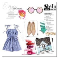 """""""shein"""" by jelena-333 ❤ liked on Polyvore featuring Charlotte Olympia, Betsey Johnson and GALA"""
