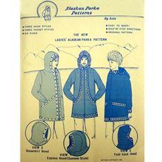 Vintage Kuspuk Pattern.