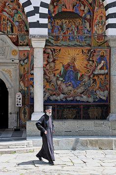 Rila Monastery, Bulgaria.  **
