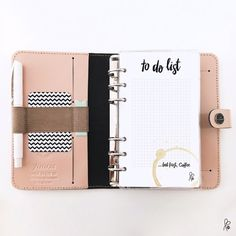 Notepad / Filofax Personal / Printable by sppiy on Etsy