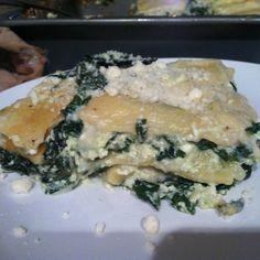 winter green lasagna with homemade pasta more green lasagna yum winter ...