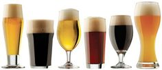 Libbey by Craft Brew Sampler Clear Beer Glass Set