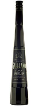 Galliano Black Sambuca... I'd love one of these this cold yucky day!
