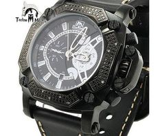 Techno Master Watches Mens Diamond Watch 0.45ct. « Clothing Adds for your desire
