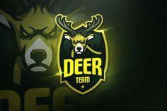 Deer Team - Mascot & Esport Logo by aqrstudio on Envato Elements Fitness Video, Sport Fitness, Envato Elements, Game Logo Design, Team Mascots, Branding, Logo Templates, Design Templates, Magazine Template