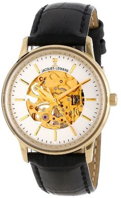 Jacques Lemans Unisex N-207B Nostalgia Classic Analog Mechanical Movement Watch | Your #1 Source for Watches and Accessories