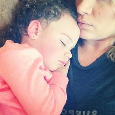 I love when she falls asleep on me. It so rarely happens anymore ❤️ #Padgram