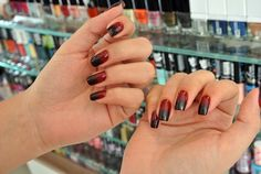 Black and red gradient. How is this done?! I want it now!