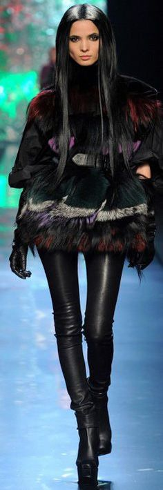 I ❤️ fur and leather