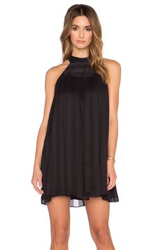 BCBGeneration High Neck Dress in Black | REVOLVE