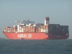 Cap San Antonio ---Typ: Containerschiff Callsign: D5FI9 Baujahr: 2014 IMO Nr.: 9622241 Flagge: Liberia Nominale Kapazität: 9.814 TEU Kapazität: 9.814 TEU bei 14t Kühlcontainer-Anschlüsse: 2.100