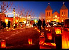 Christmas on the Plaza. Mesilla, NM