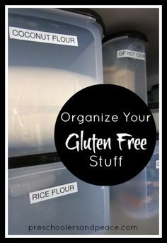 Organize Your Gluten Free Stuff