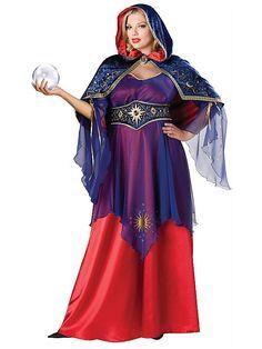 Adult Elite Plus Size Mystical Sorceress Costume - Halloween City Meme Costume, Costume Shop, Costume Dress, Halloween Costumes Plus Size, Plus Size Costume, Fete Halloween, Halloween Customs, Halloween City, Pregnant Halloween