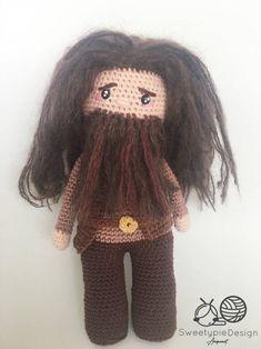 Een persoonlijke favoriet uit mijn Etsy shop https://www.etsy.com/nl/listing/540226181/hagrid-englishdutch-crochet-pattern