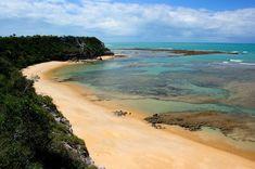 Praia do Espelho - Bahia #sightseeing #brasil #beach #soccer #travel #beautiful #world #cup #2014