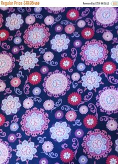Clearance SALE Cotton Fabric, Quilt, Home Decor, Craft, Geometric, Project Pink by Windham Fabrics, Modern Flowers, Fast Shipping