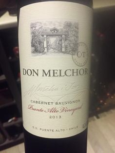 Average of 92.8 points in 27 community wine reviews on 2013 Concha y Toro Cabernet Sauvignon Don Melchor, plus professional notes, label images, wine details, and recommendations on when to drink.