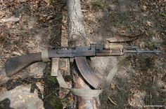 This pre-owned AK still worked when taken off a poacher in Africa