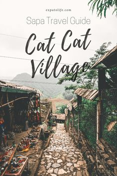 A Complete Guide To Cat Cat Village Sapa Vietnam <br> This Cat Cat Village Travel Guide covers things to do in Cat Cat village, how to get there, entrance fee & tips to make the most of your trip Vietnam Travel Guide, Asia Travel, Solo Travel, Beautiful Places To Visit, Cool Places To Visit, Visit Vietnam, Hanoi Vietnam, Thailand, Backpacking Asia