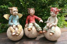 MJ-Arts - Keramik-Elfen