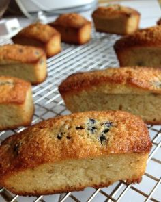 Blueberry financiers