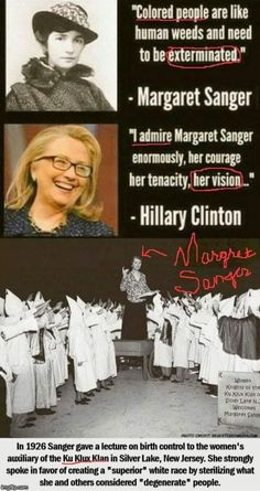 Read the Truth! Educate yourself before you throw Sanger under the bus!