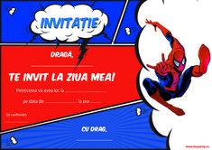 Invitatii petrecere pentru copii - BluParty Armin, Ss