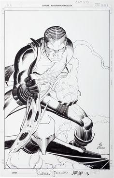 Original Comic Art:Covers, John Romita Jr. and Klaus Janson Amazing Spi... Image #2