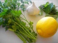 detox-perte-de-poids-persil-citron-ail