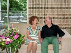 When Jill and Michael first met 60 years ago, it wasn't love at first sight. Jill was 18, Michael was 21 and they were at a dance at their local youth club