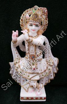 We are engaged in offering exclusive collection of marble krishna moorti.These krishan moorti in various colors, patterns, designs and sizes as per their specification. Krishna Statue, Krishna Radha, Lord Vishnu, Exclusive Collection, Ganesh, Jaipur, Statues, Marble, Christmas Ornaments