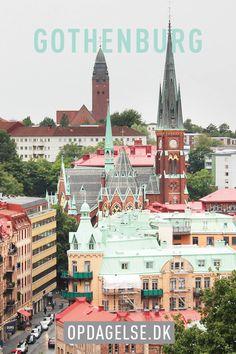 The view frm Skansen Kronan in Gothenburg