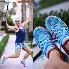 Oh how I wish I could be doing this right now....jumping and playing tennis! Talking about me knee issues on my blog today....don't take your health for granted!!!!! 🎾 . . . #tennis #tennisplayer #tennisskirt #tennisfashion #ilovetennis #adidas #kswiss #wilson #wiw #ootd #fashionblogger #utahblogger #onmyblog #fashiondiaries #mylookbook #chicover50 #50plusandfabulous #over50 #ageisjustanumber #styleatanyage #jump #happygirl #instapic #instatennis #instajump #xoxo