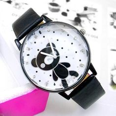 teddy bear watches Teddy Bear, Watches, Leather, Accessories, Women, Products, Wristwatches, Teddy Bears, Clocks
