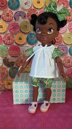Dolls and Pretty Things: Sewing for Disney Animator Toddler Dolls
