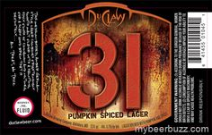 DuClaw - 31 Pumpkin Spiced Lager Coming 10/2