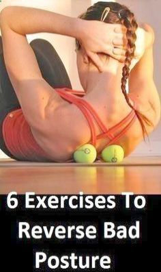 Clever Products You Need To Get In Shape For 2014 6 Exercises To Reverse Bad Posture Exercises To Rev Fitness Workouts, Fitness Motivation, Fitness Diet, Health Fitness, Ab Workouts, Muscle Fitness, Weight Workouts, Les Muscles Endoloris, Workout Bauch