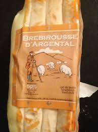 Brebirousse d'Argental  Sheep milk cheese from Lyon