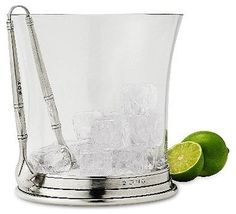 Crystal Ice Bucket by Match Pewter - traditional - Ice Tools And Buckets - Tabula Tua