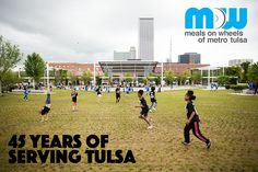 Meals on Wheels of Metro Tulsa has served Tulsa for 45 years! This has been an incredible time of love, charity, and support.