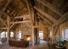 Pole Barn House Interior Pictures Gambrel Roof Pole Barn